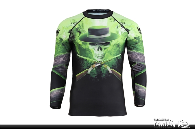Raven Wild West - The Preacher Rashguard